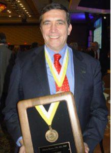 Alfonso Bucero receives The PMI Fellow Award