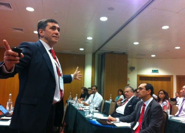 Alfonso Bucero at the Project Management Annual Congress in Lisbon (2013)