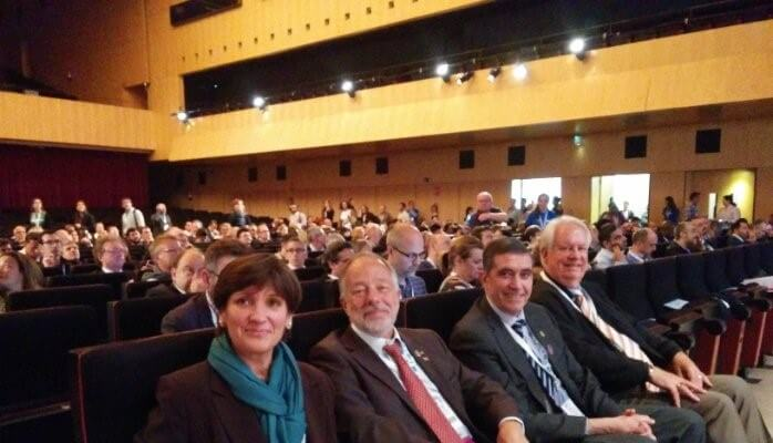 Alfonso Bucero y amigos en PMI EMEA Barcelona