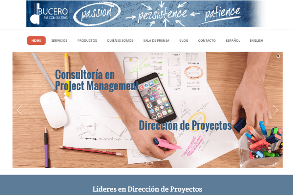 Home Bucero PM Consulting