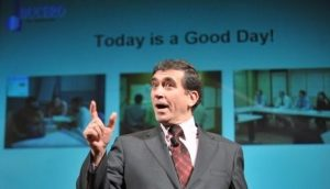 Today is a good day attitude, Alfonso Bucero